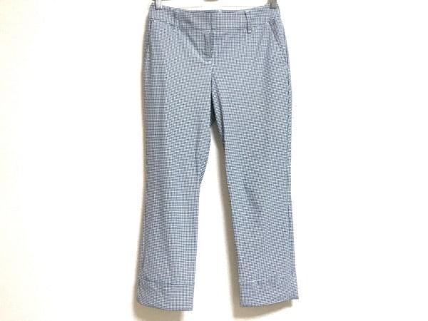 MARLENEDAM(マーレンダム) パンツ サイズ38 M レディース 白×ネイビー