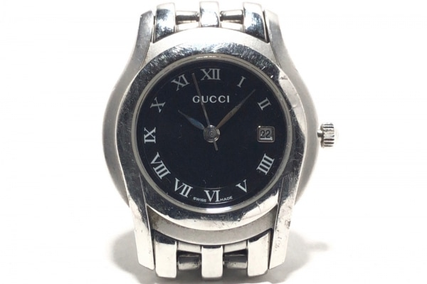 GUCCI(グッチ) 腕時計 5500L レディース 黒