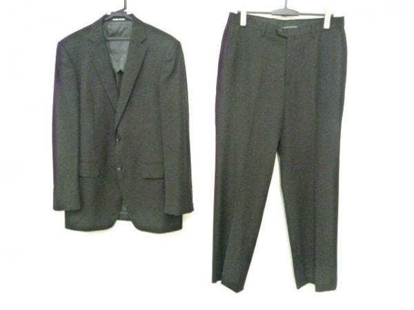 PERSON'S(パーソンズ) シングルスーツ メンズ 黒 FOR MEN/肩パッド