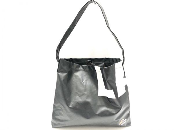 Lowe Alpine(ロウアルパイン) トートバッグ 黒×白×オレンジ PVC(塩化ビニール)