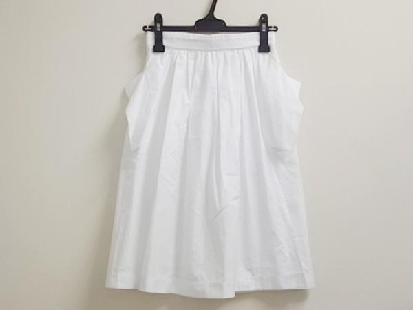 JILSANDER(ジルサンダー) スカート サイズ32 XS レディース美品  白