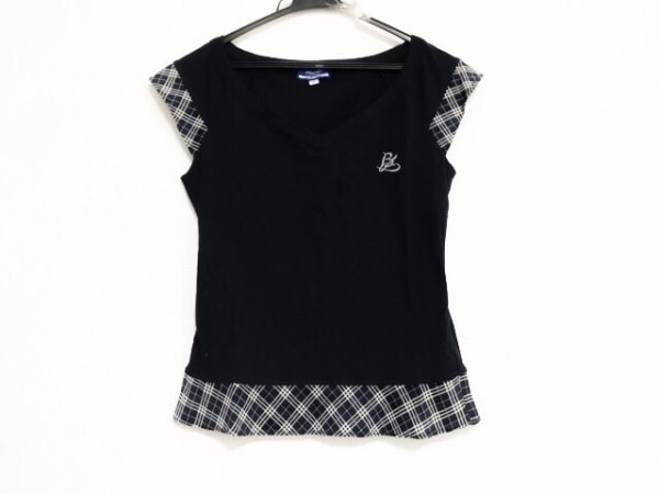 バーバリーブルーレーベル ノースリーブTシャツ サイズ38 M レディース美品