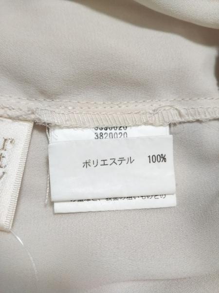 シークレットハニー 長袖カットソー サイズ2 M レディース美品  ベージュ×黒 フリル
