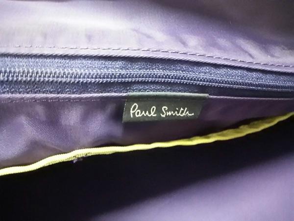 PaulSmith(ポールスミス) ビジネスバッグ 黒 ナイロン×レザー