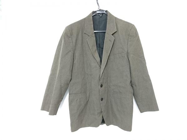 agnes b(アニエスベー) ジャケット サイズ50 XL メンズ グレー×ダークグレー