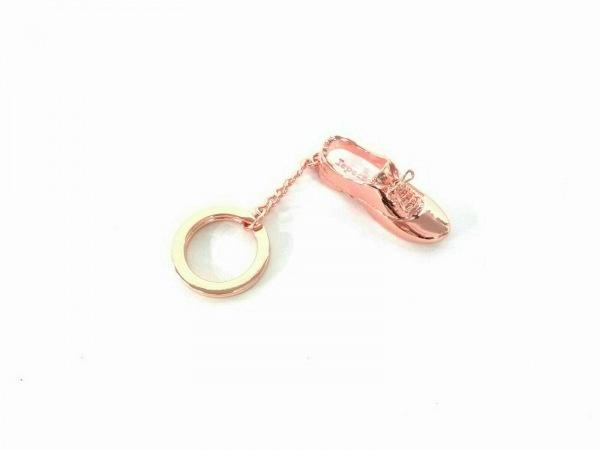 repetto(レペット) キーホルダー(チャーム)美品  ゴールド 靴モチーフ 金属素材