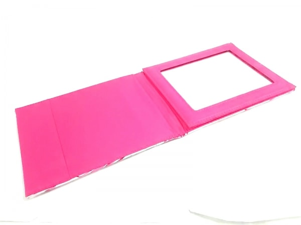 Rady(レディ) ミラー美品  ピンク×ベージュ キャンバス