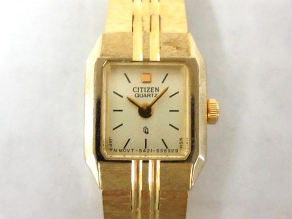 CITIZEN(シチズン) 腕時計 5421-S18531 レディース ゴールド