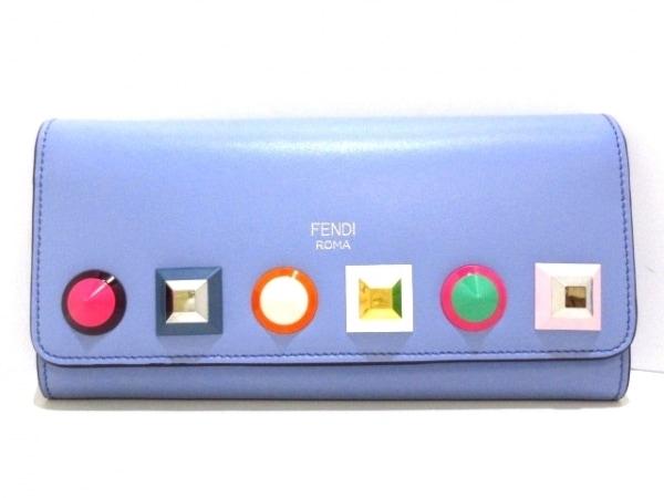 FENDI(フェンディ) 長財布美品  チェーン コンチネンタル ウォレット 8M0365