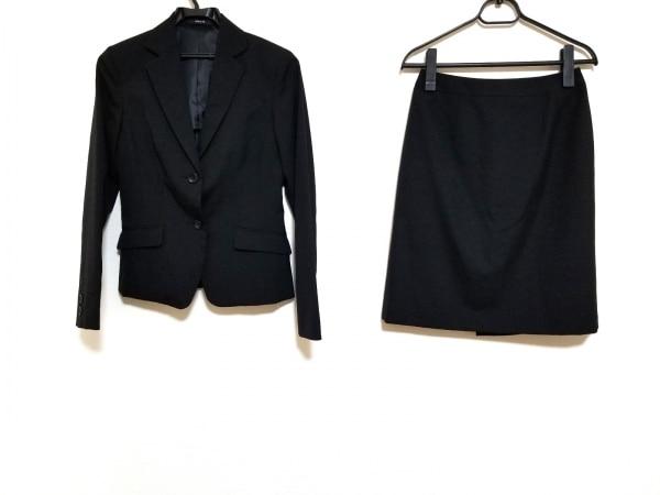 COMME CA ISM(コムサイズム) スカートスーツ サイズS レディース美品  黒