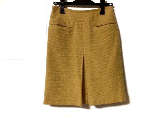 INCOTEX(インコテックス) スカート サイズ38 M レディース イエロー