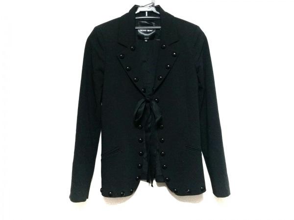 DENNY ROSE(デニーローズ) ジャケット サイズXS レディース 黒 リボン
