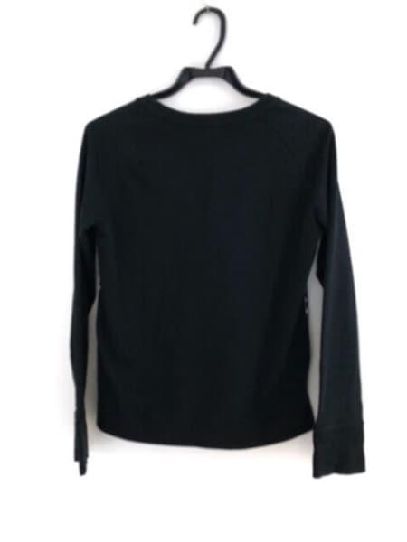 LOVELESS(ラブレス) 長袖Tシャツ サイズ36 S レディース 黒×ダークブラウン×マルチ