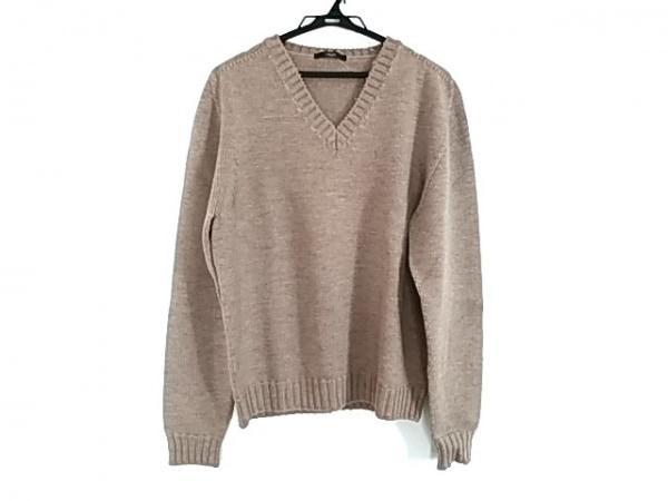 Z Zegna(ジーゼニア) 長袖セーター メンズ美品  ブラウン