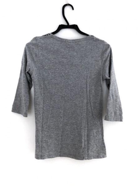 LOVELESS(ラブレス) 七分袖Tシャツ サイズ36 S レディース グレー×黒
