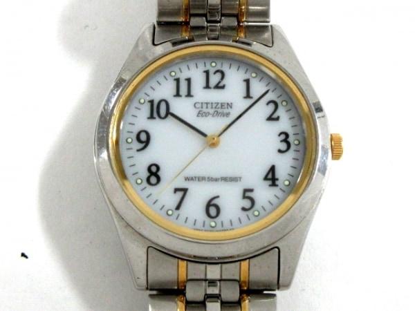 CITIZEN(シチズン) 腕時計 E030-L20476 レディース エコドライブ 白