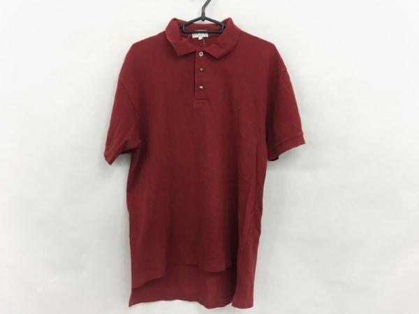 PaulSmith(ポールスミス) 半袖ポロシャツ サイズM メンズ美品  レッド