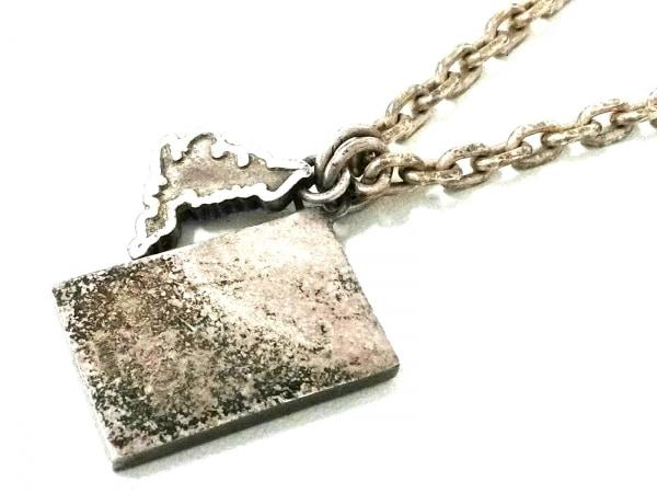 PaulSmith(ポールスミス) ネックレス シルバー ネイビー×レッド ユニオンジャック