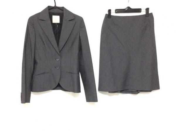 ヴァニラコンフュージョン スカートスーツ サイズ38 M レディース美品  ダークグレー