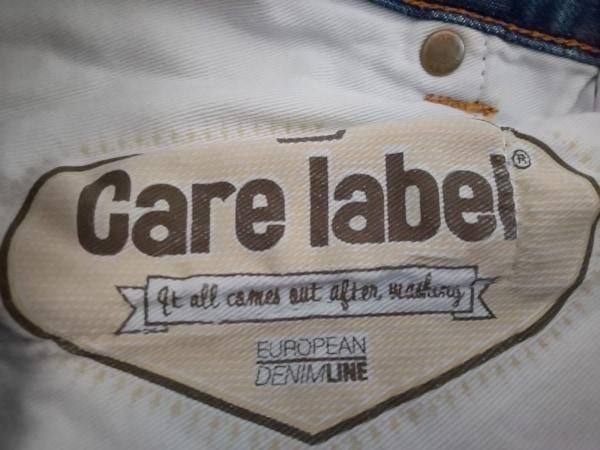 CARE LABEL(ケア レーベル) ジーンズ メンズ ネイビー×ライトブルー×マルチ 迷彩柄