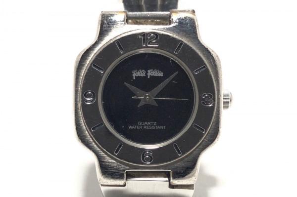 FolliFollie(フォリフォリ) 腕時計 - レディース 黒