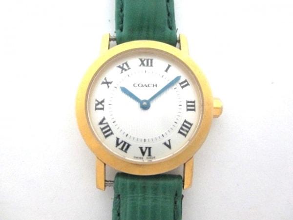 COACH(コーチ) 腕時計 W135 レディース 白