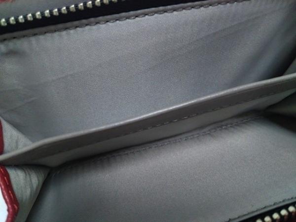 6e8d24f0d0b3 ... COACH(コーチ) 2つ折り財布 - 黒×レッド×マルチ キャンバス×レザー ...