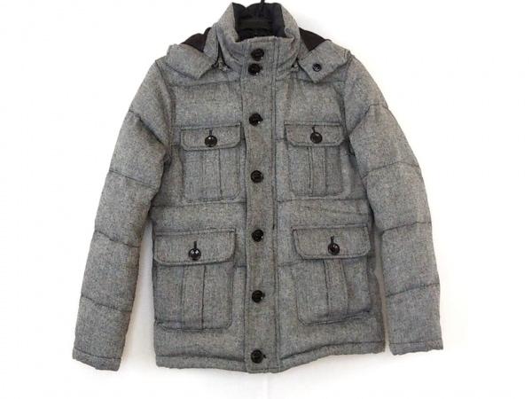 RUPERT(ルパート) ダウンジャケット サイズL メンズ 黒×白 ジップアップ/冬物