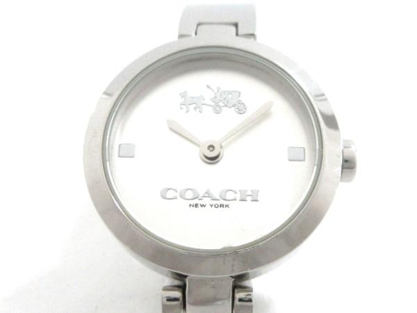 COACH(コーチ) 腕時計 CA.92.7.14.0942 レディース シルバー