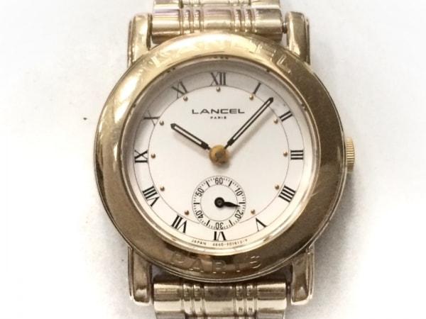 LANCEL(ランセル) 腕時計 4640-E65371Y レディース 白