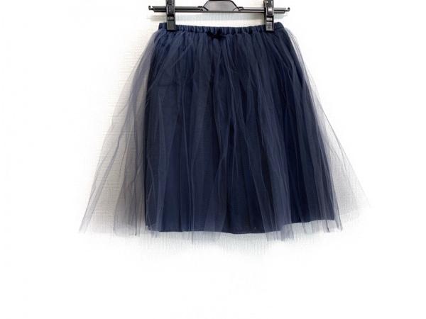 Bilitis(ビリティス) スカート サイズ36 S レディース美品  黒 チュール