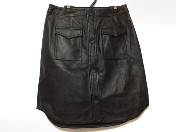 OPENING CEREMONY(オープニングセレモニー) スカート サイズ2 M レディース 黒 レザー