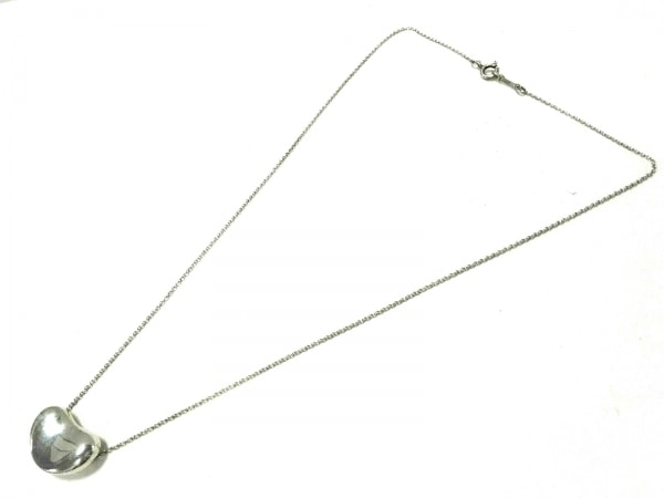 TIFFANY&Co.(ティファニー) ネックレス美品  ビーンズ シルバー