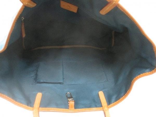 ETRO(エトロ) トートバッグ ブルー×ライトブラウン×マルチ ペイズリー柄
