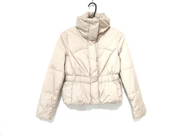 UNTITLED(アンタイトル) ダウンジャケット サイズ2 M レディース ベージュ 冬物
