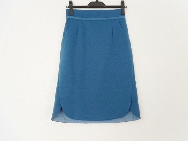 JUSGLITTY(ジャスグリッティー) スカート サイズ1 S レディース美品  ブルー