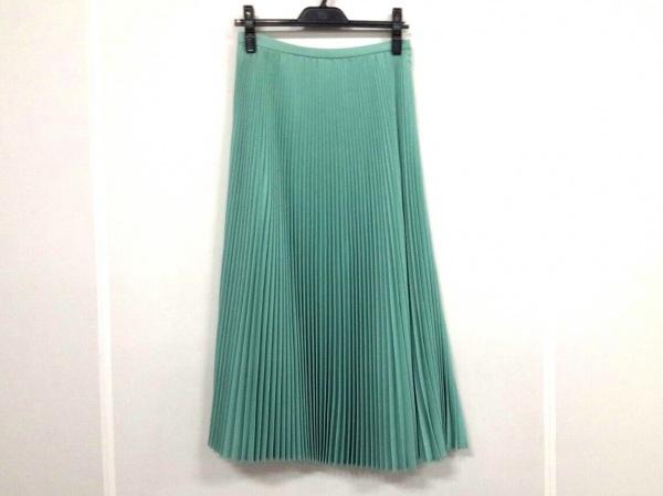 ツルバイマリコオイカワ ロングスカート サイズ36 S レディース美品  ライトブルー