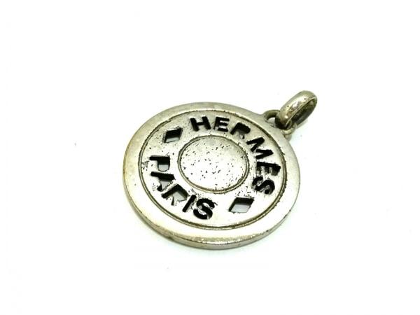 HERMES(エルメス) ペンダントトップ セリエ 金属素材 シルバー