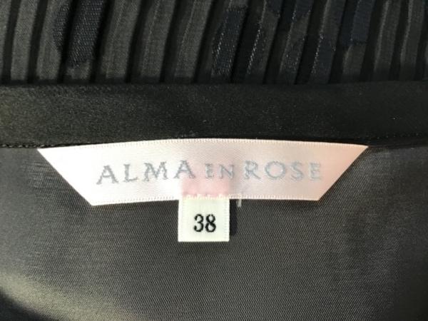 ALMA EN ROSE(アルマアンローズ) スカートセットアップ サイズ38 M レディース 黒