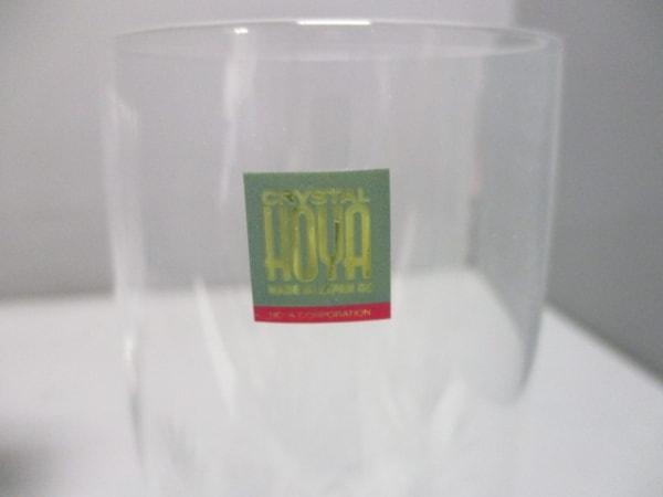 HOYAクリスタル(ホヤクリスタル) 食器新品同様  クリア ワイングラス×5 ガラス