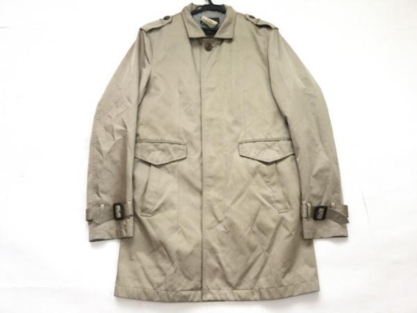 MORGAN DE TOI(モルガン) コート サイズM メンズ ベージュ 春・秋物/ライナー付き