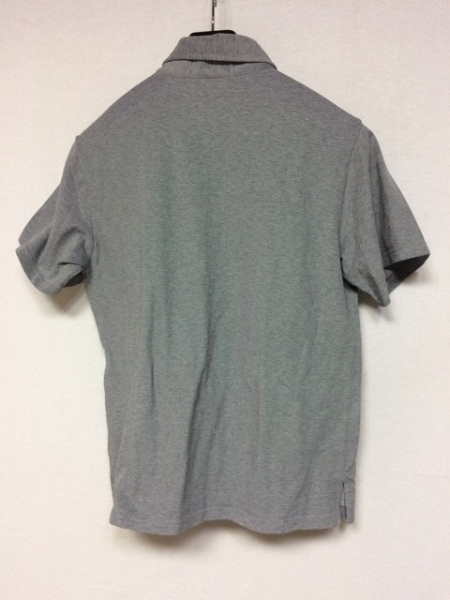 PENDLETON(ペンドルトン) 半袖ポロシャツ サイズM メンズ美品  グレー