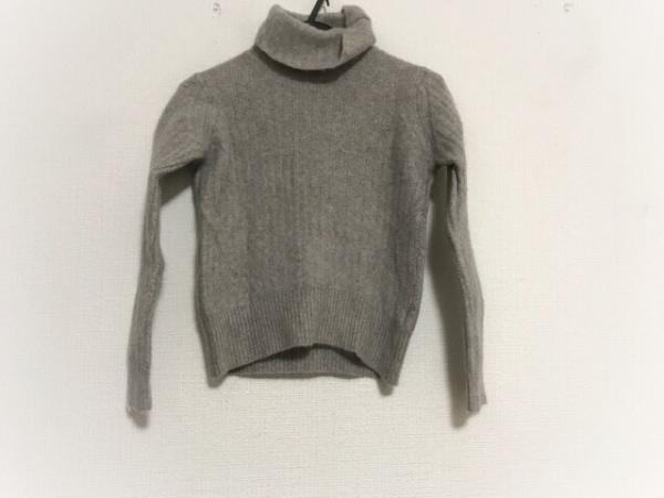 アトリエドゥサボン 長袖セーター サイズF レディース美品  グレー