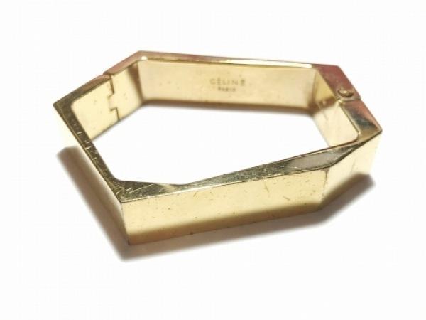 4efee309bb61 CELINE(セリーヌ) ブレスレット 金属素材 ゴールドの中古   CELINE ...