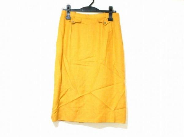 Leilian(レリアン) スカート サイズ11 M レディース オレンジ