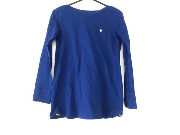 ブルーレーベルクレストブリッジ 長袖Tシャツ サイズ38 M レディース ブルー