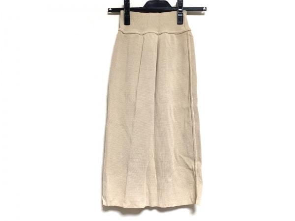 ALAIA(アライア) スカート サイズM レディース ベージュ ニット