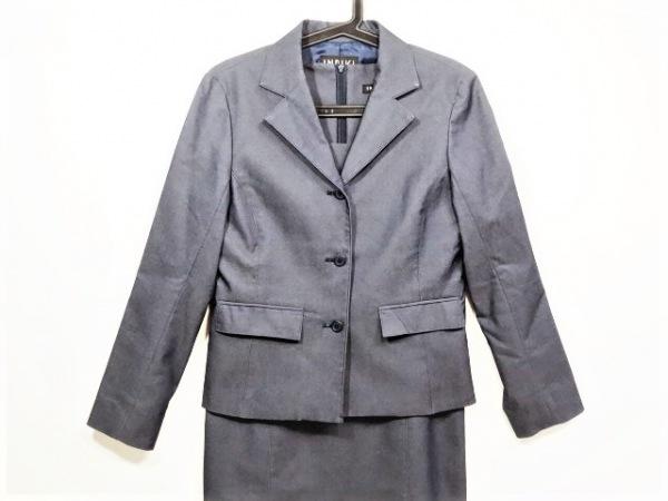 INDIVI(インディビ) ワンピーススーツ サイズ38 M レディース美品  ネイビー