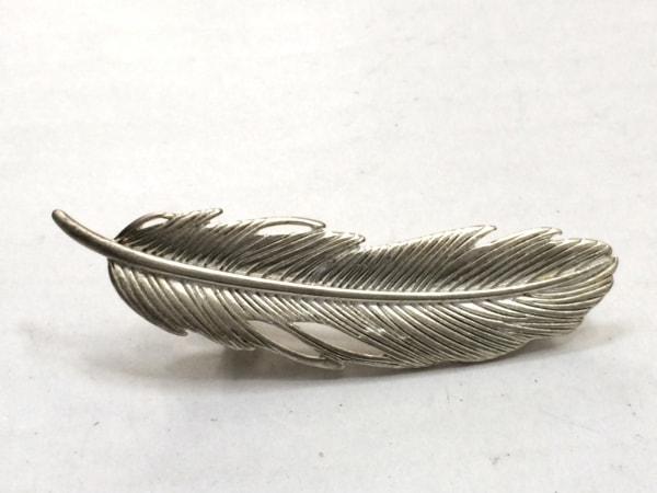 ComplexBIZ(コンプレックスビズ) アクセサリー 金属素材 シルバー ヘアクリップ/羽