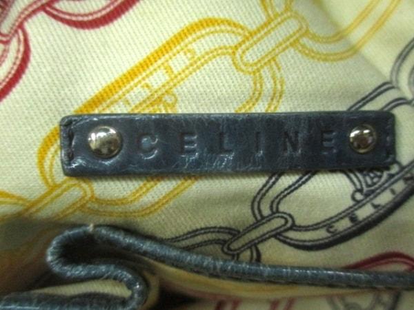 CELINE(セリーヌ) ハンドバッグ - ダークグリーン エナメル(レザー)